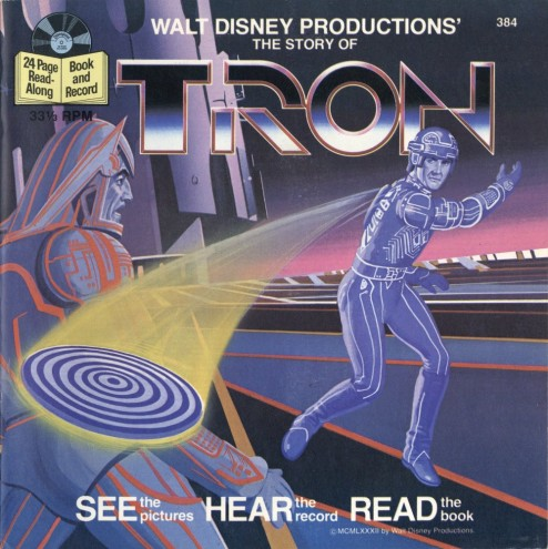 disney tron read-along