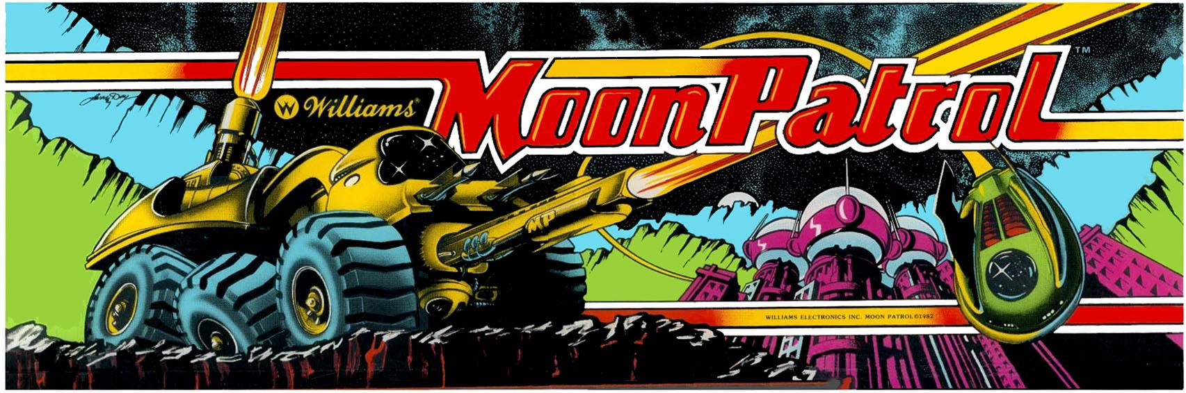 Nos Arcade Artworks préférés !! Moon-patrol-marquee