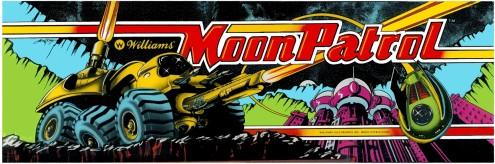Moon Patrol Marquee