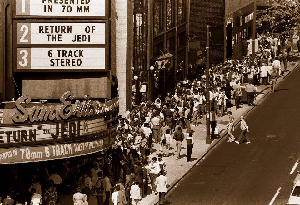 Movie Theater Marquees Return Of The Jedi 1983 2