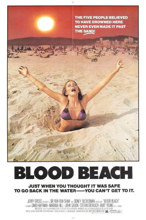 Bllod Beach Poster