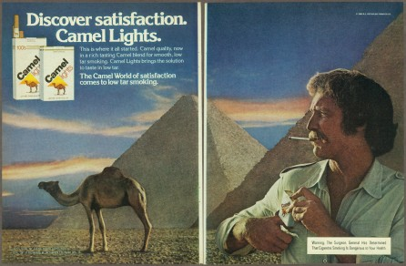 Camel Ad 1980