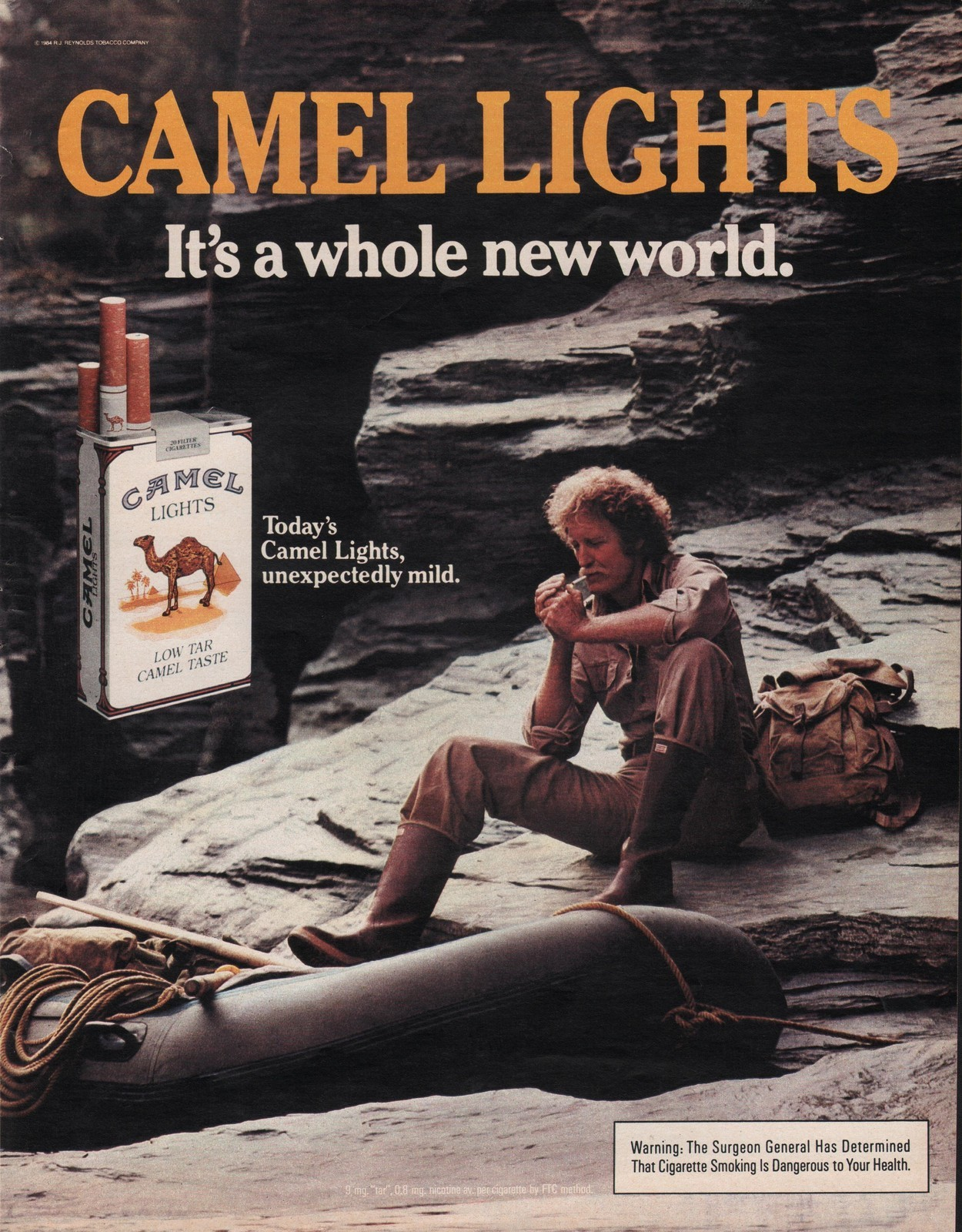 'Cowboy Look is the One I Sought': Camel Cigarette Ads ...