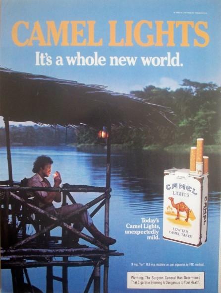 Camel Ad 1985