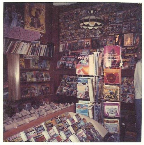 Comic Book Store 1980