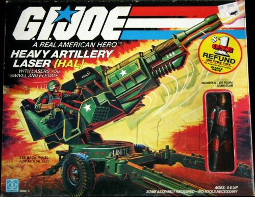 G.I. Joe HAL 1982