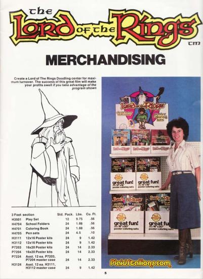 LOTR Catalog 1979