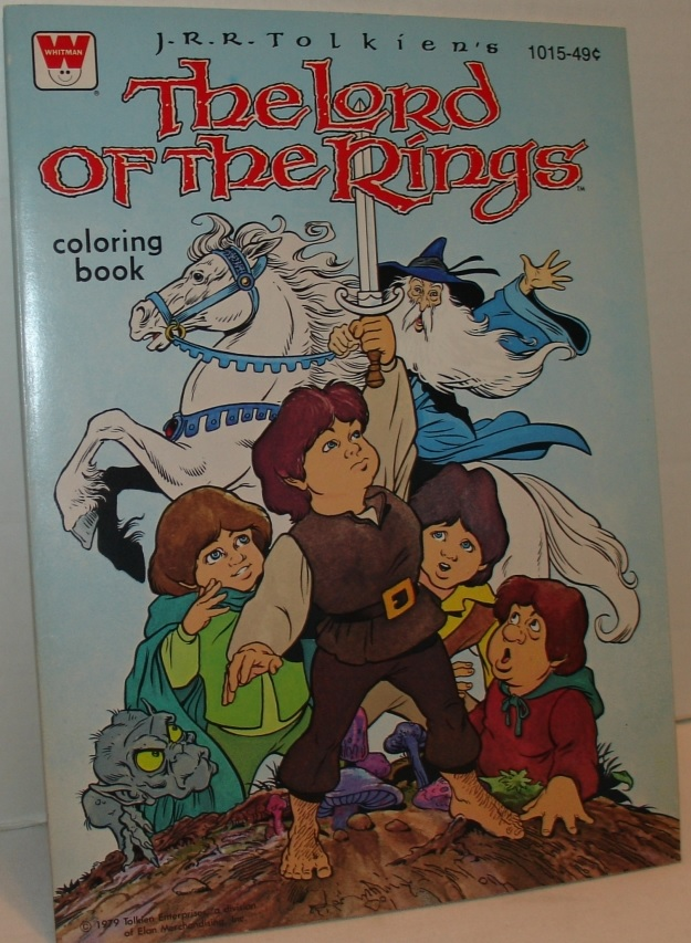 lotr coloring book 1979 - Lord Of The Rings Coloring Book
