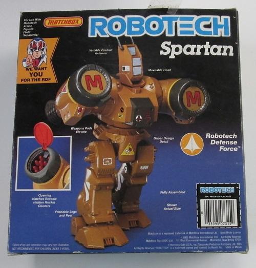 Robotech Spartan 1985-2