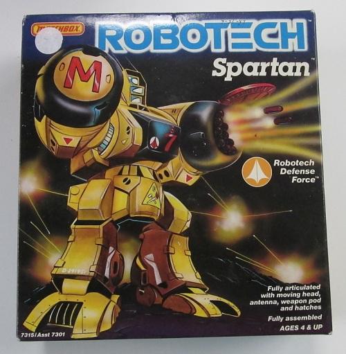 Robotech Spartan 1985