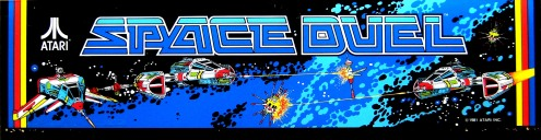 Space Duel Marquee