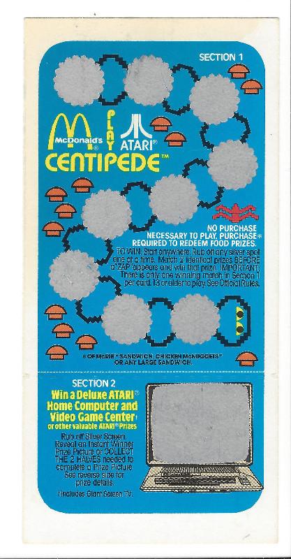 Atari Card 1982-2