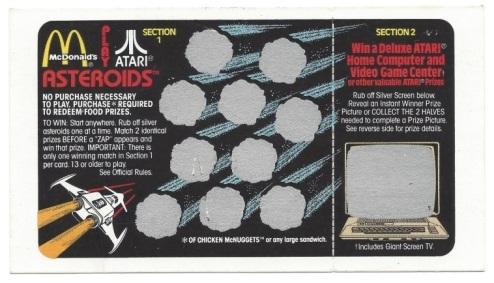 Atari Card 1982