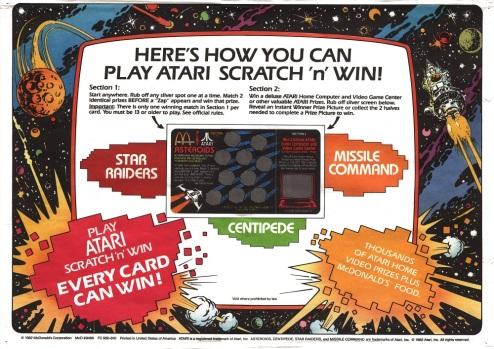 Atari Tray Liner