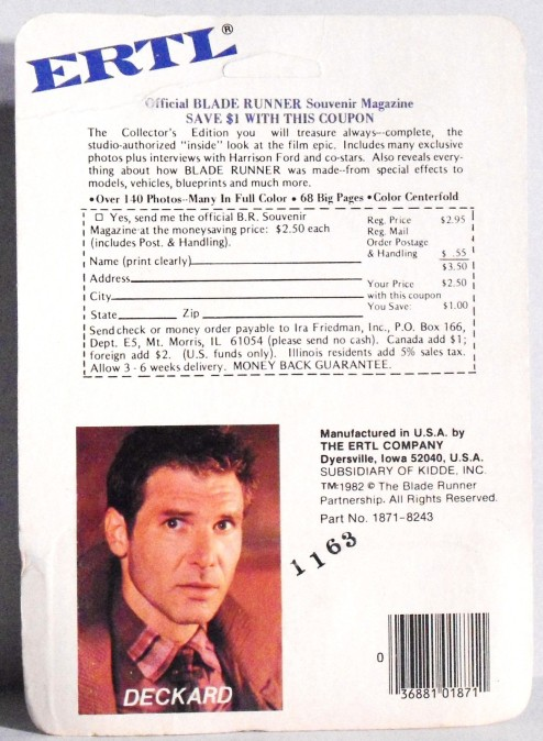 Blade Runner Ertl-2