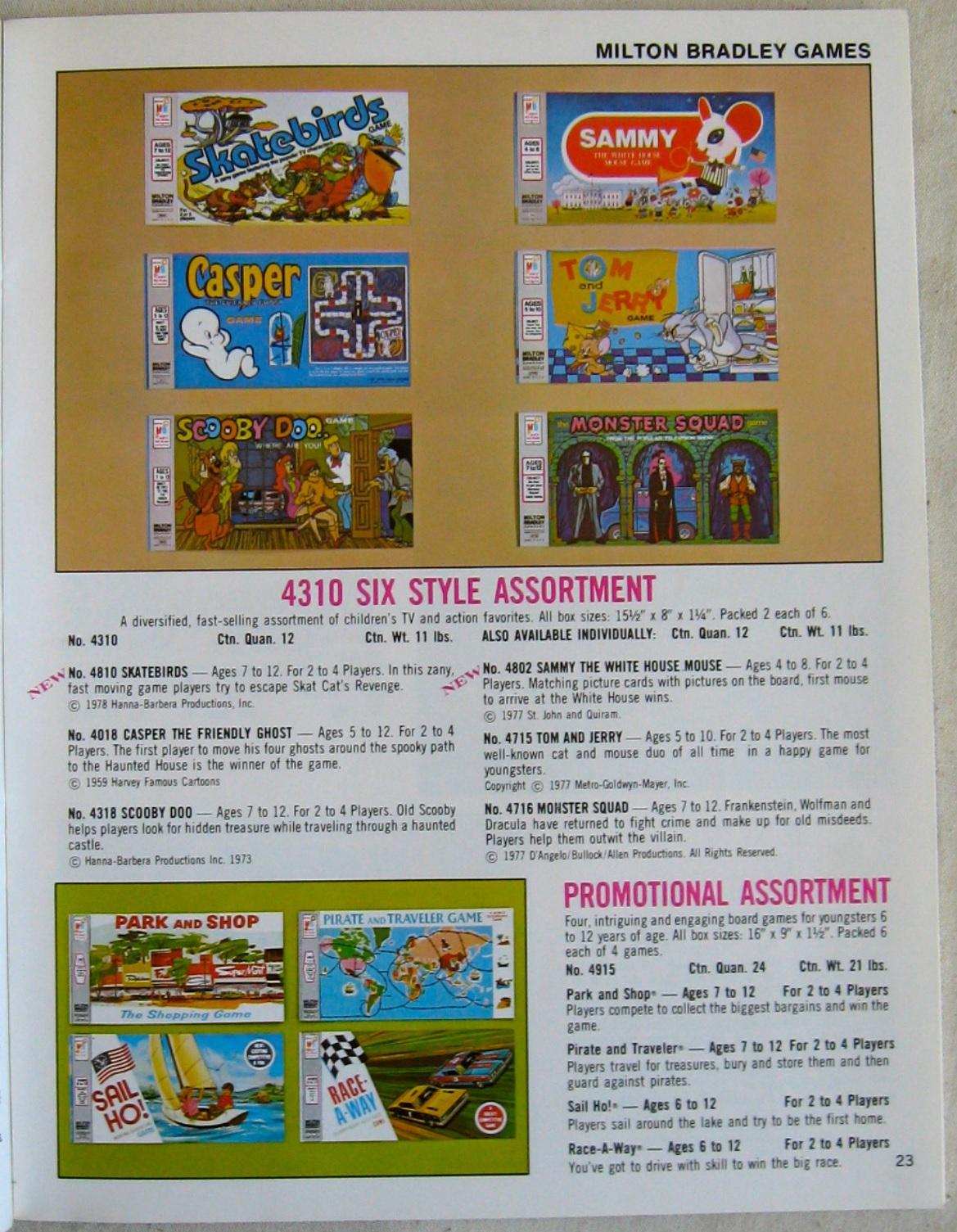1978 Milton Bradley 'Super Staples' Catalog | 2 Warps to Neptune