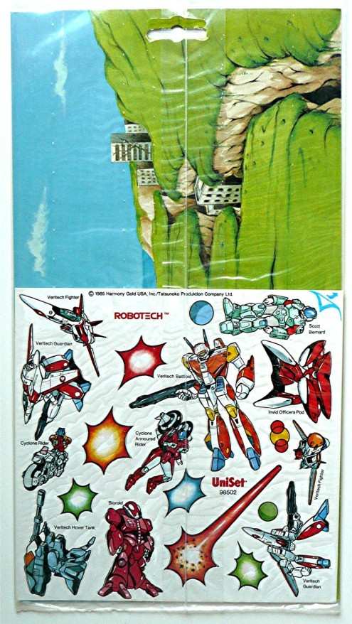 Robotech Press Peel 1985-2