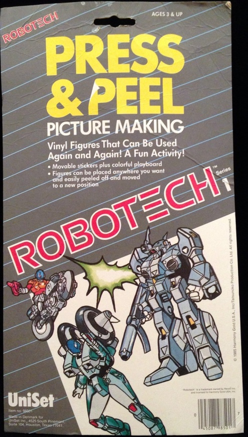 Robotech Press Peel 1985-3