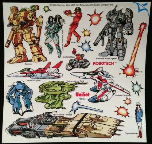 Robotech Press Peel 1985-4