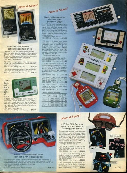 Tomy 3-D 1983-4