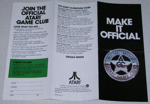 Atari Brochure 1980