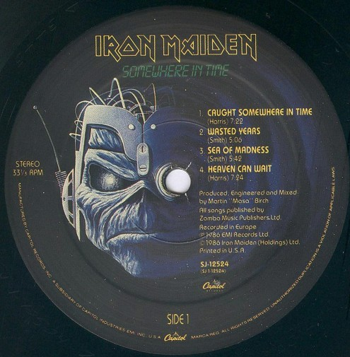 Iron Maiden Somewhere in Time-2