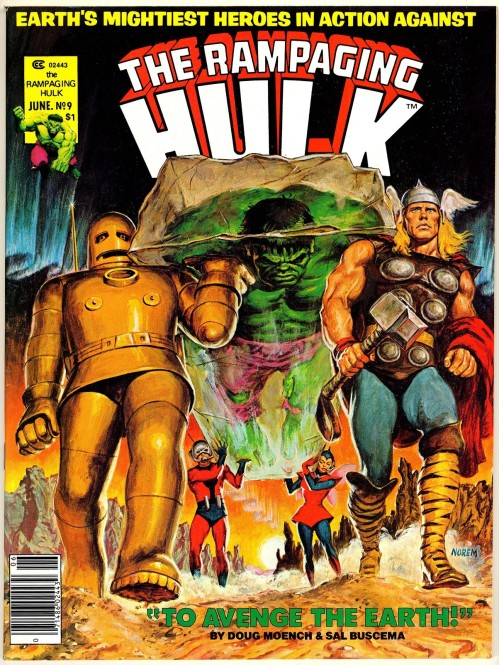 Norem Rampaging Hulk #9-2