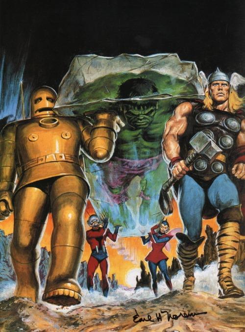 Norem Rampaging Hulk #9