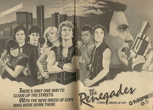 Renegades Ad 2-26-1983