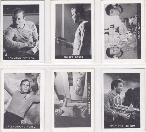 Star Trek Cards 1967