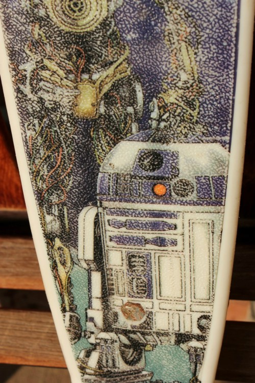 Star Wars Skateboard 77-4