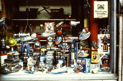 Toy Display 1980-2