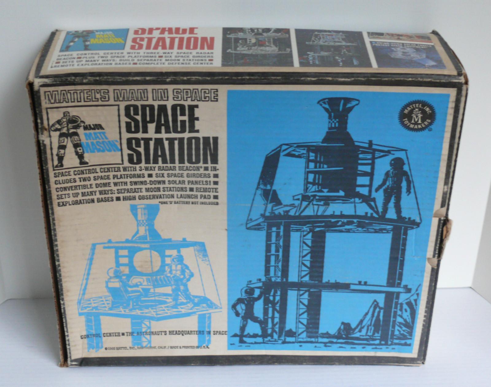 Major Matt Mason, Mattel's Man in Space: Space Station ...