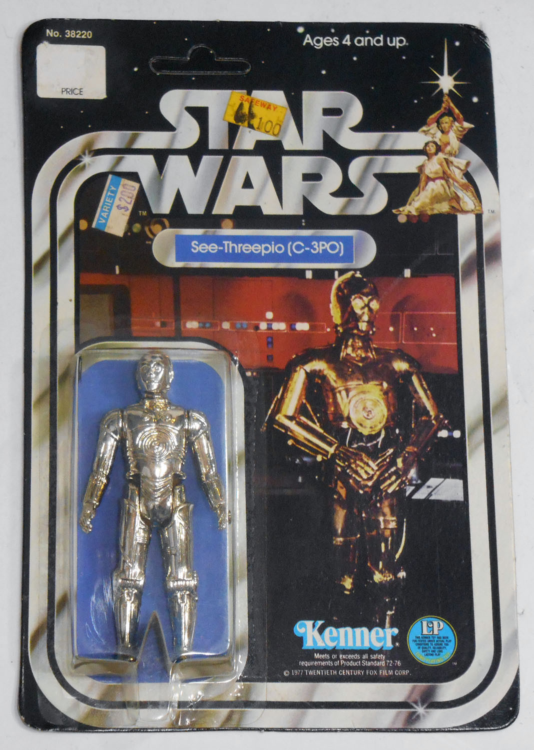 Kenner Star Wars Toys : Kenner s star wars action figures artoo detoo and see