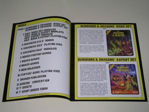 TSR Catalog 1981-3