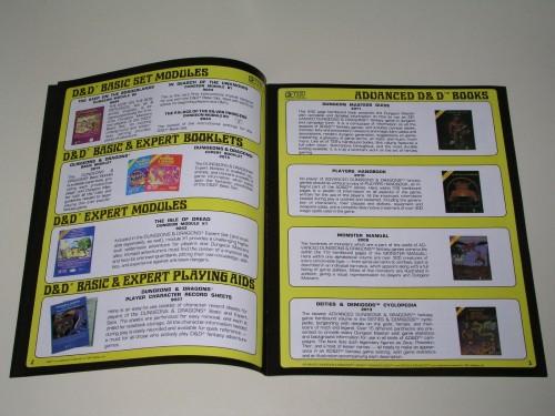 TSR Catalog 1981-4