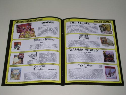 TSR Catalog 1981-5