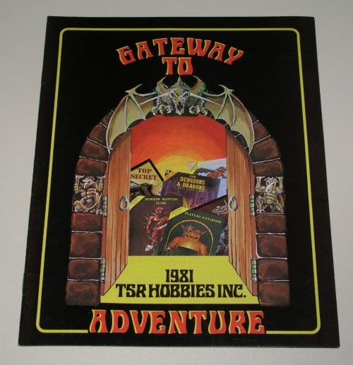 TSR Catalog 1981