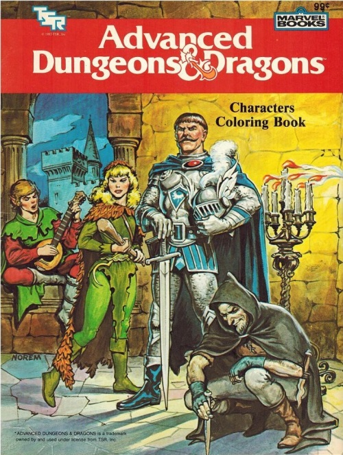 AD&D Characters FC