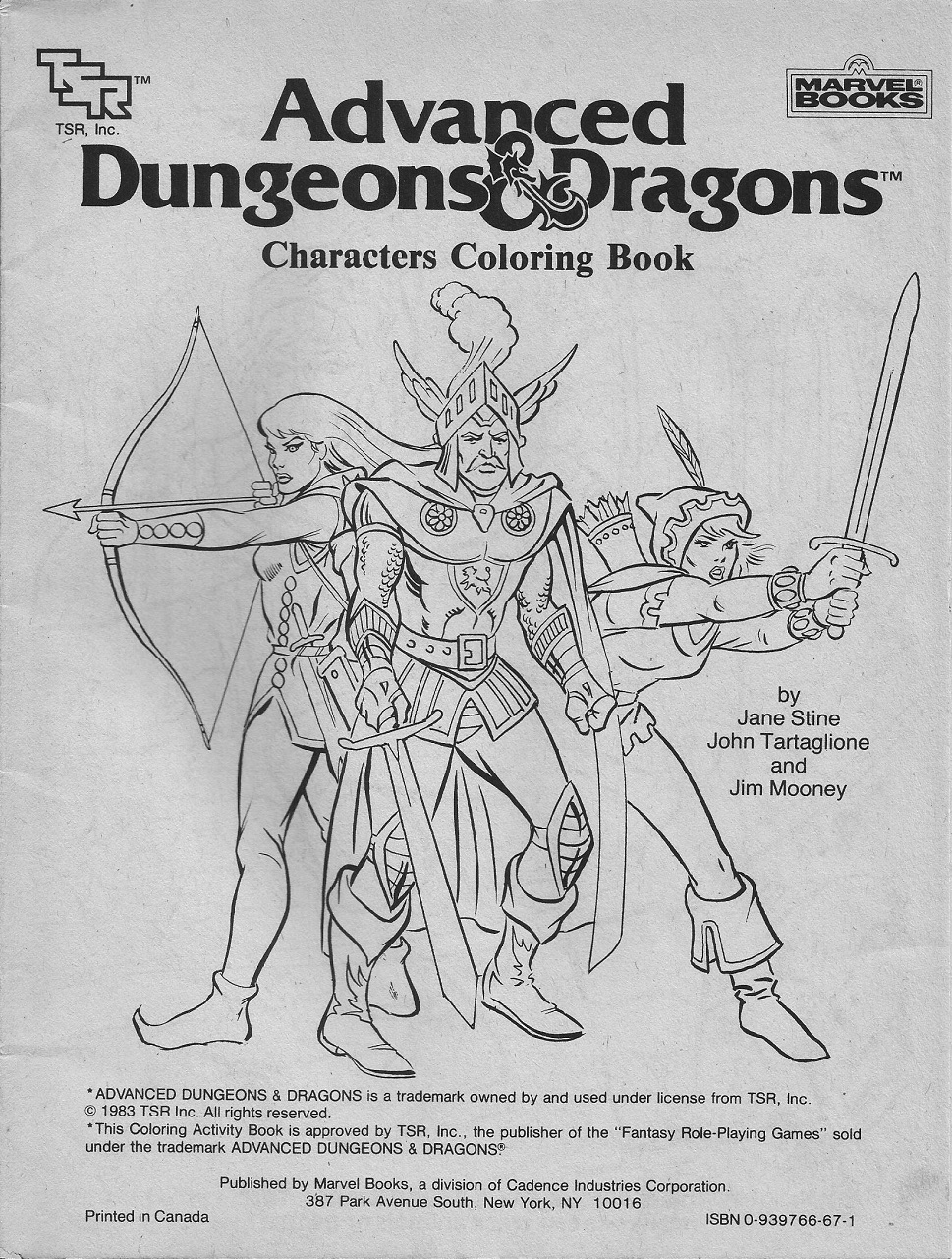 dungeons and dragons coloring pages - photo #28