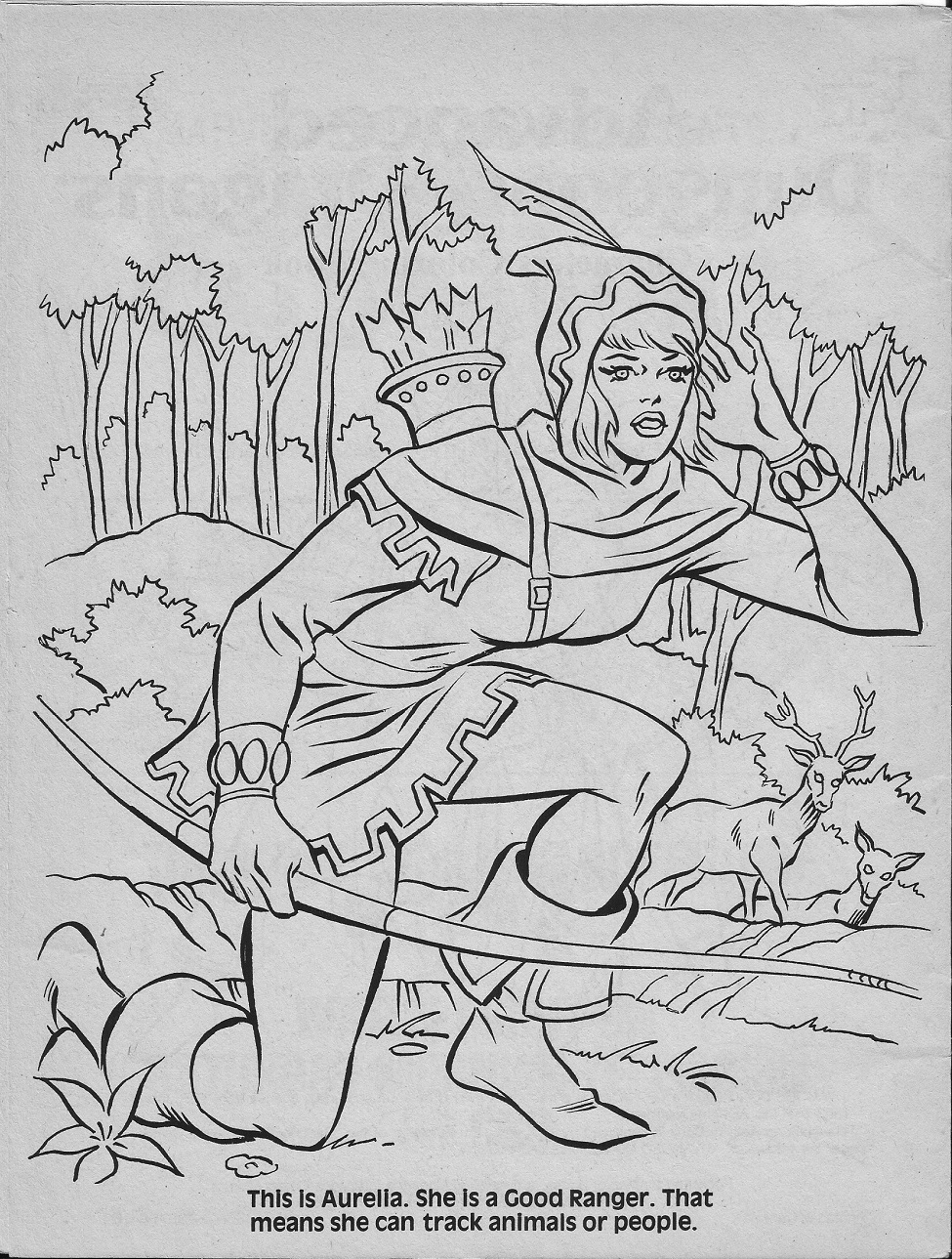 dungeons and dragons coloring pages - photo #18
