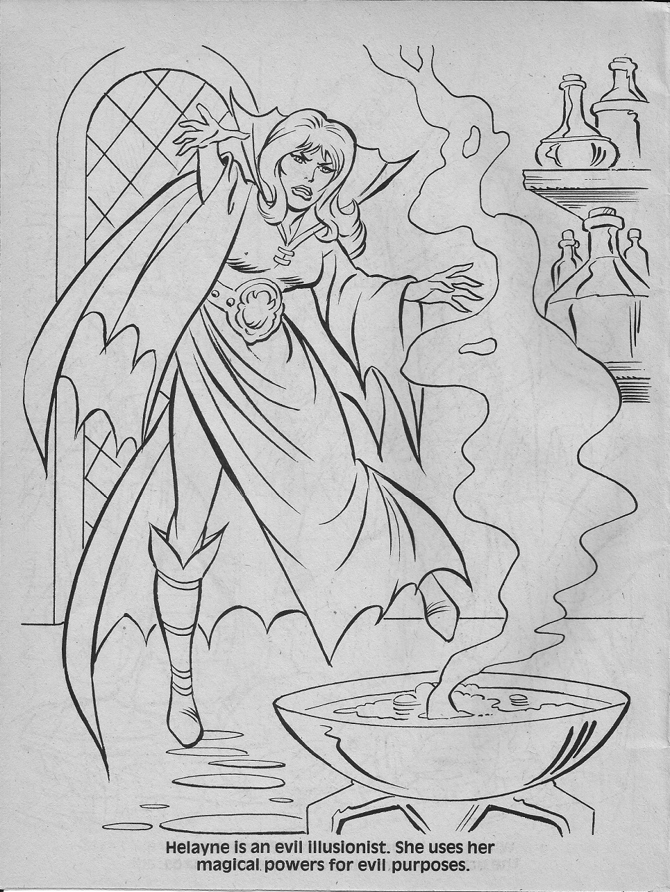 dungeons and dragons coloring pages - photo#21