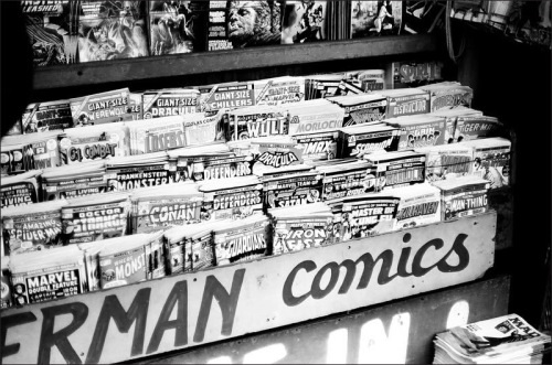 Comic Book Rack, 1975