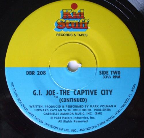 G.I. Joe Captive 1984-3
