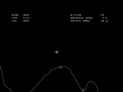 Lunar Lander Screenshot