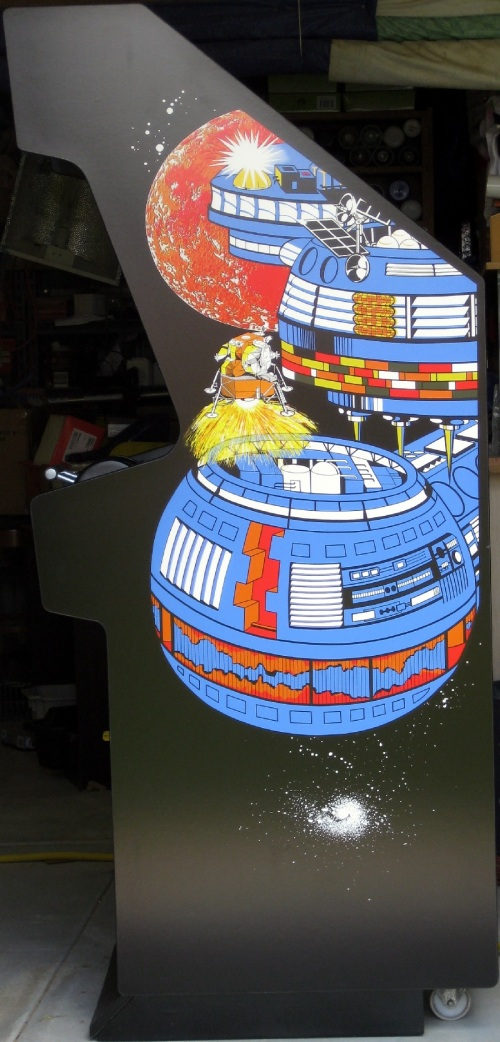Lunar Lander Side Art