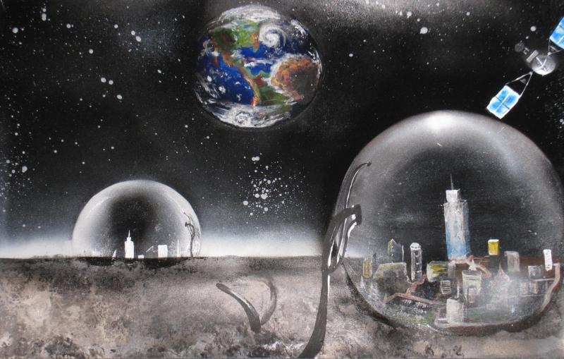 'Visions of Lunar Life': 2009 NASA Art Contest Winners | 2 ...