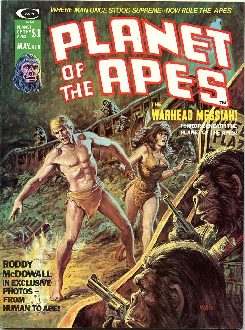 the art of earl norem planet of the apes 8 22 and 28 1975