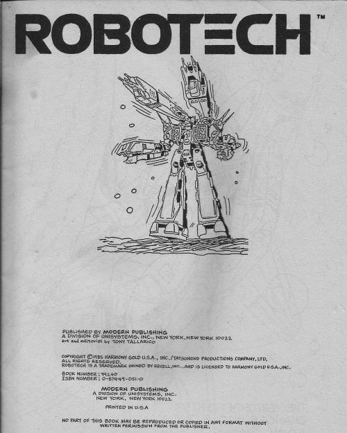 Robotech CB 1985-1