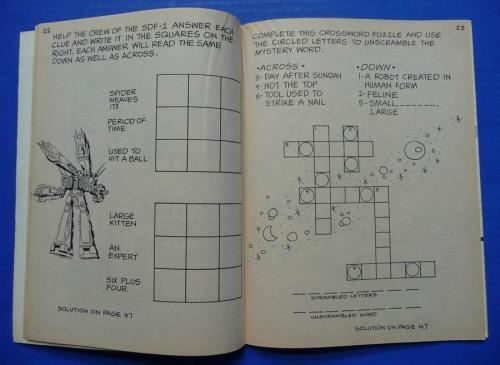 Robotech Coloring Book-3
